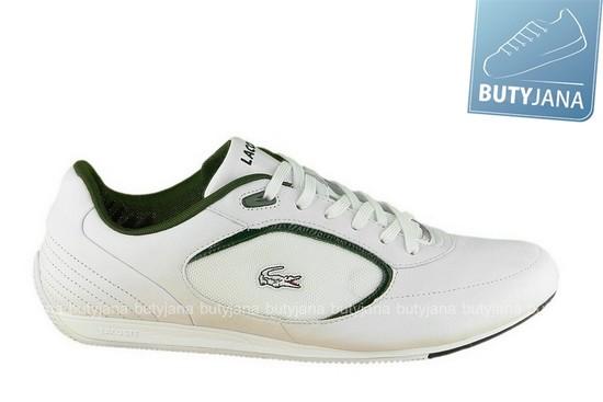 lacoste buty białe