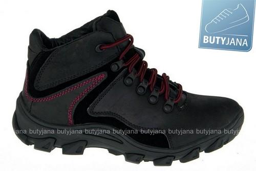 mcarthur buty trekkingowe  czarne