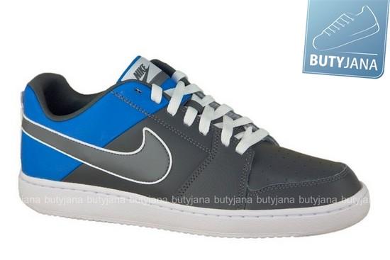 buty nike szaro niebieskie