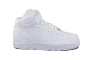 Nike Air Force 1 All White – unbox