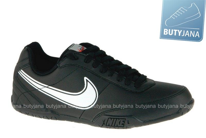 buty sportowe z czarnej skóry