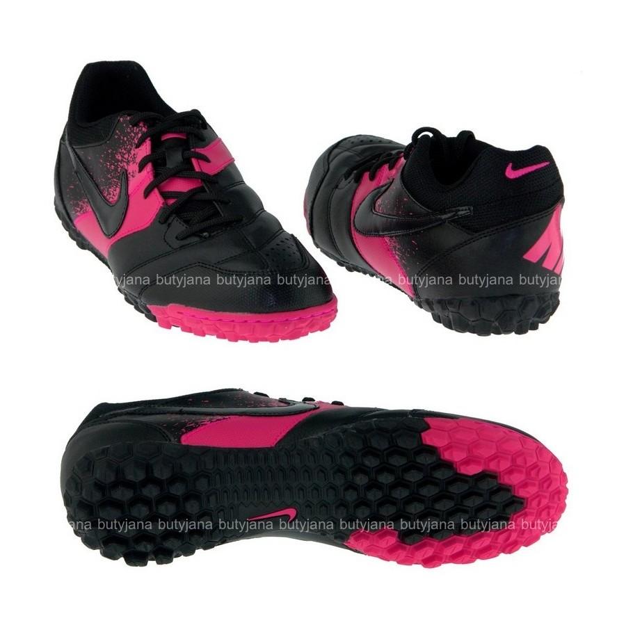 buty-nike-5-bomba-czarne-z-różowym