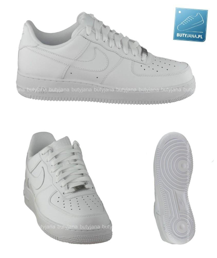 separation shoes 53d3f 7fb9a buty-nike-AIR-FORCE-1-07-białe