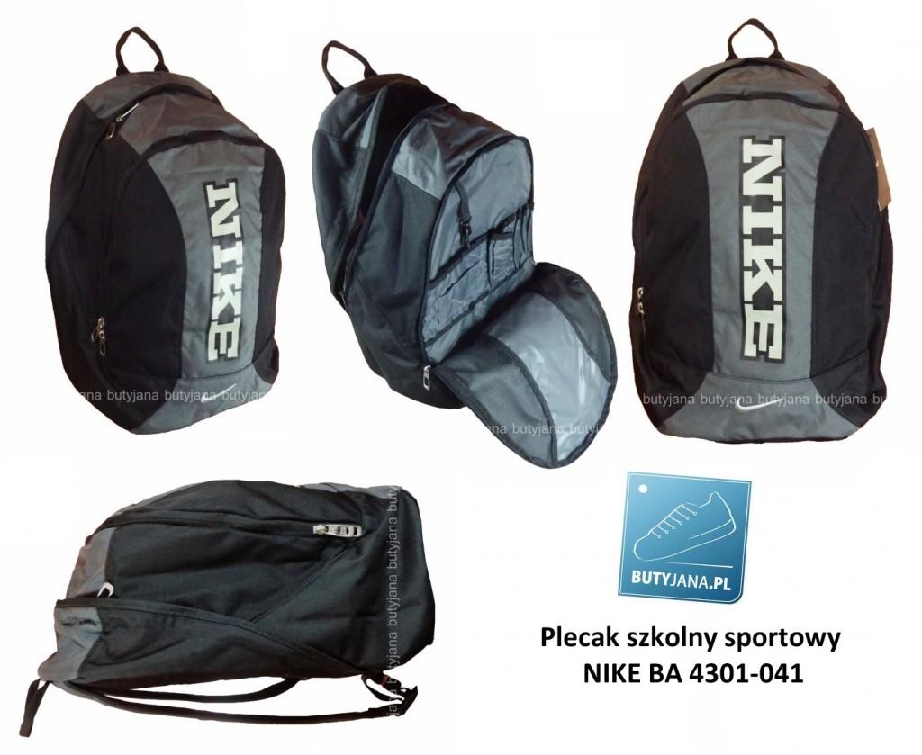 ec2de5c166af5 Plecak szkolny Nike BA 4301-041 w wersji sportowej. – Butyjana.pl