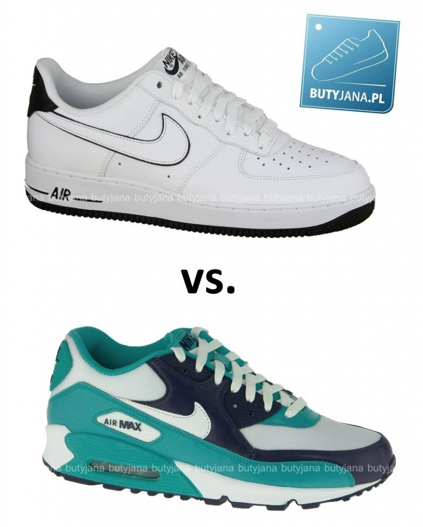 nike air max 90 vs nike air force 1 wasze opinie i komentarze. Black Bedroom Furniture Sets. Home Design Ideas