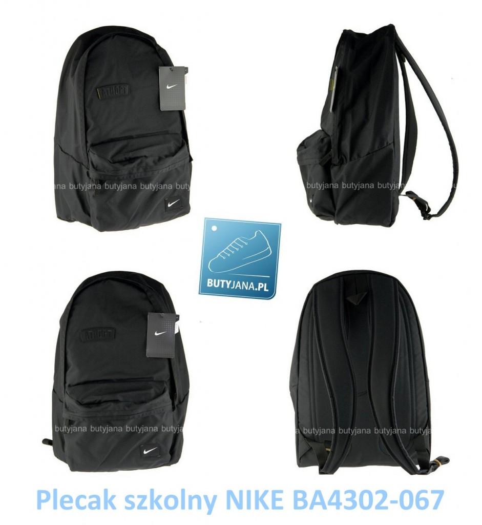 5990cdf3e0d5e Czarny plecak Nike – idealny do szkoły jak i na letnie wypady ...