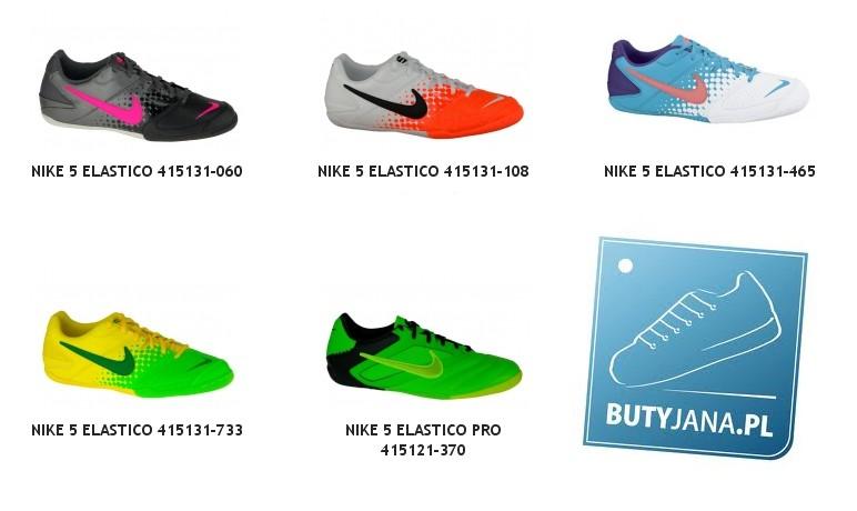 595d696540 Nike 5 Elastico to bardzo dobry wybór dla wszystkich uprawiających piłkę  nożną na hali a co cieszy te buty sportowe dostępne są w bardzo przystępnej  cenie. ...