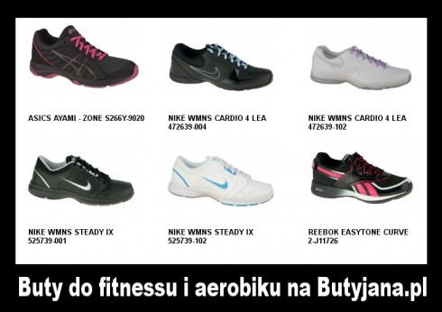 buty adidas damskie do aerobiku