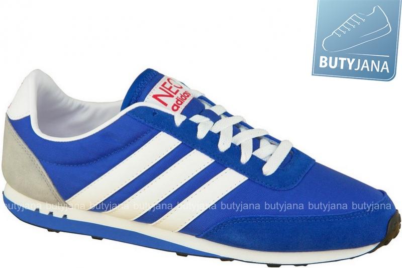 buty sportowe adidas racer niebieskie