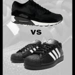 nike-air-max-90-black-white-vs-adidas-superstar-II-blach-white