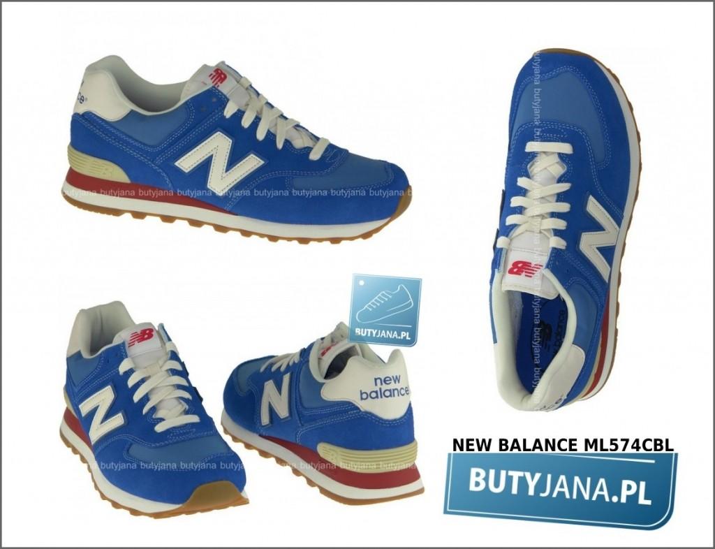 NB 574 niebieskie