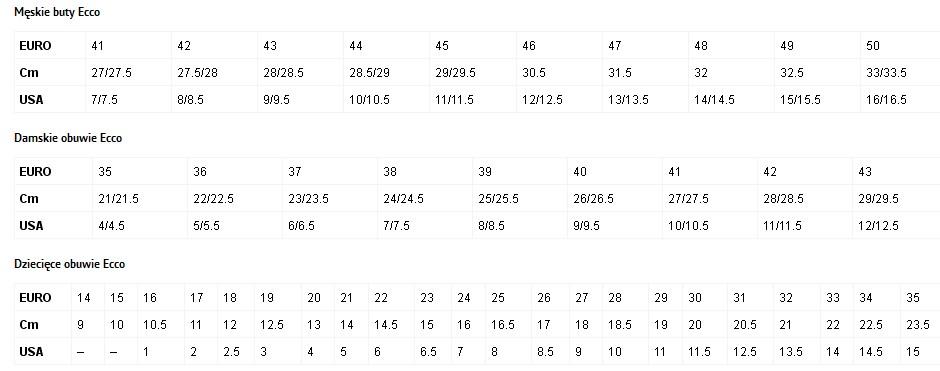 buty-ECCO-tabela-rozmiarów-męskie-damskie-i-dziecięce
