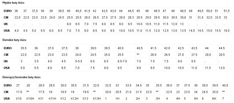 adidas zx flux damskie tabela rozmiarów