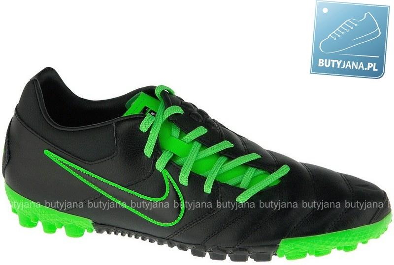 czarno zielone nike 5 bomba