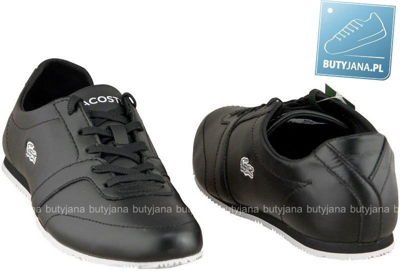 czarne damskie buty lacoste