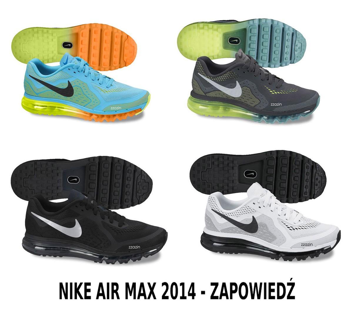 9587bb745 Buty sportowe Nike Air Max 2014 – zapowiedź. – Butyjana.pl