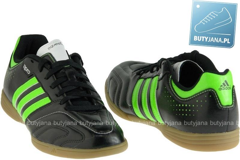 czarno zielone halówki adidas