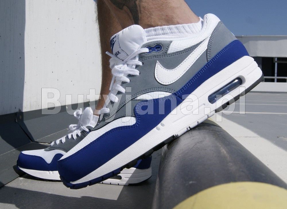 timeless design 31972 49253 Nike Air Max 1 Essential 537383-414 Deep Royal Blue. – Butyjana.pl