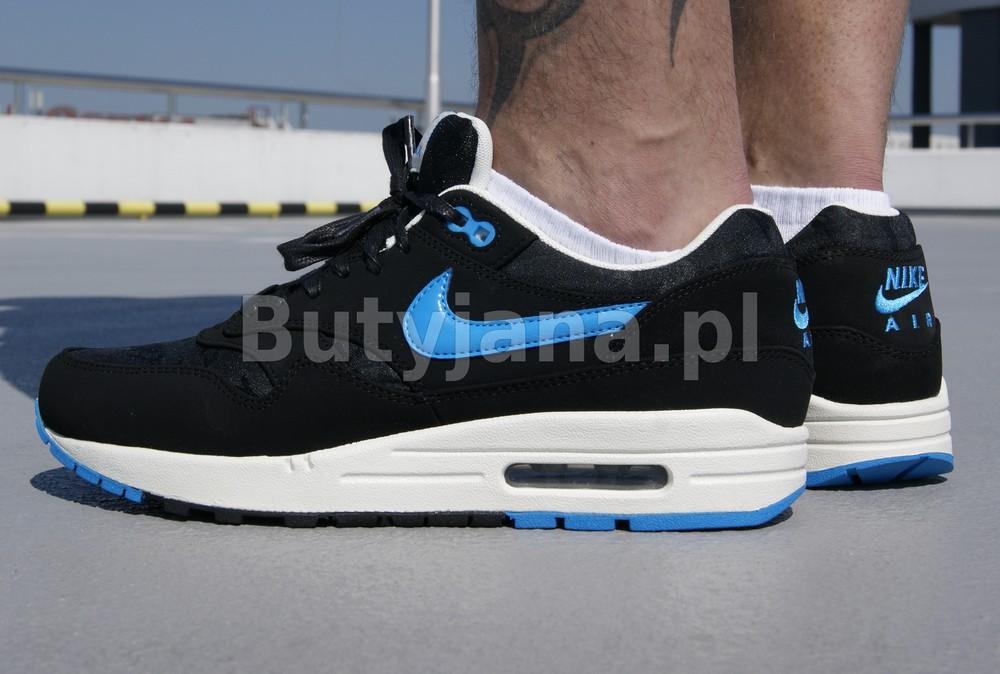 finest selection 08e5f 38568 ... czarno niebieskie nike air max 1 nike air max 1 blue hero