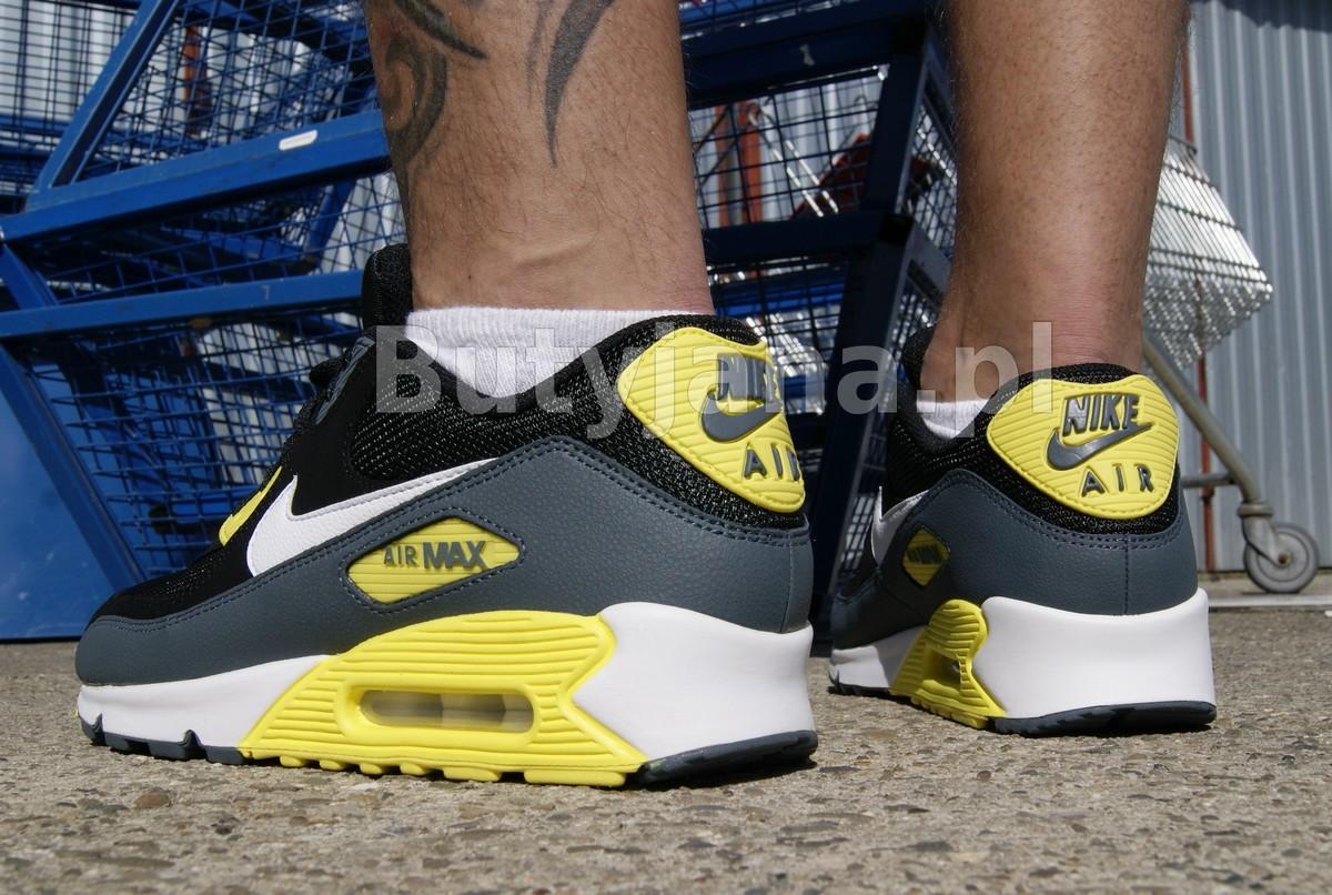 Nike Air Max 90 Essential 537384 017 BLACK WHITE – SONIC