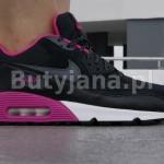 czarno różowe damskie airmaxy