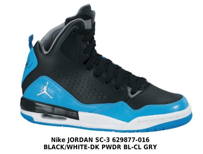 czarno niebieskie nike air jordan - buty