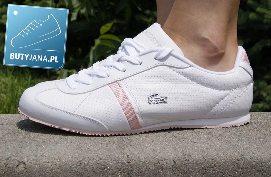 Damskie buty sportowe Lacoste Vaya w kolorze białym