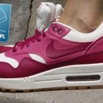 damskie buty nike air max 1 różowo czerwone