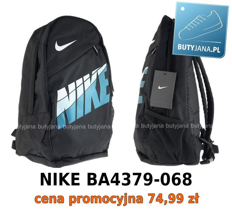 czarny plecak nike ze sklepu Butyjana.pl