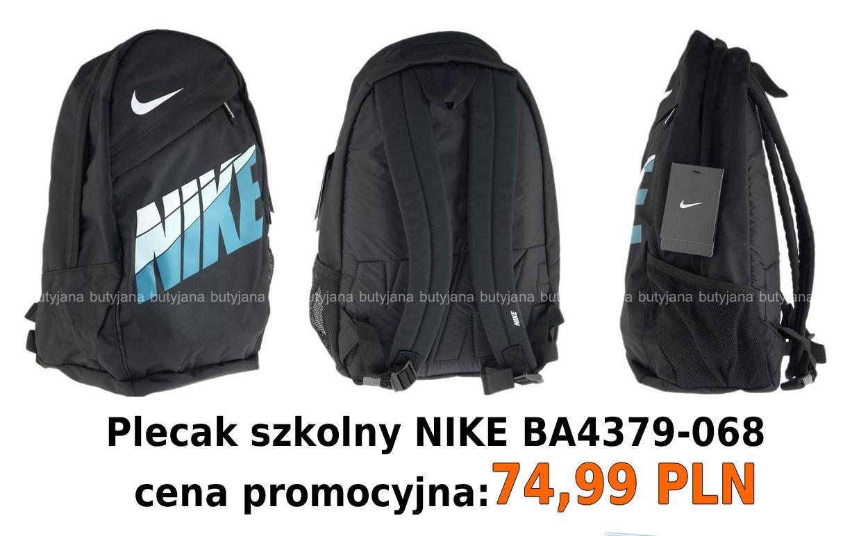 419053eeee0a6 Plecak Nike za jedyne 74,99 zł. – Butyjana.pl