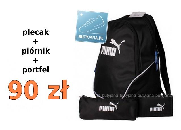 437c8e9df482b Plecak Puma + piórnik + portfel – świetny szkolny zestaw za jedyne ...
