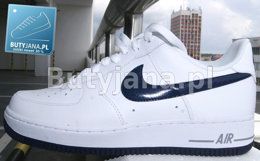 Buty Nike Air Force 1 w wersji biało czarnej low – w dobrej