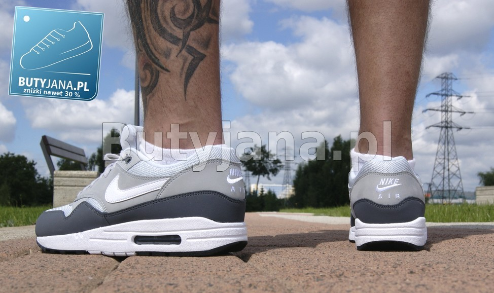 szare air max 1 - buty