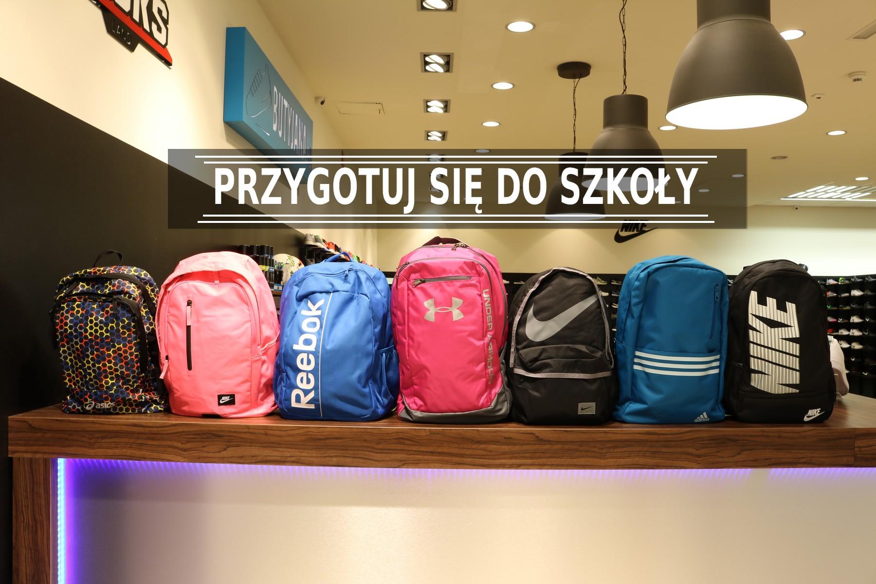 plecaki nike adidas reebok do szkoły - sklep butyjana