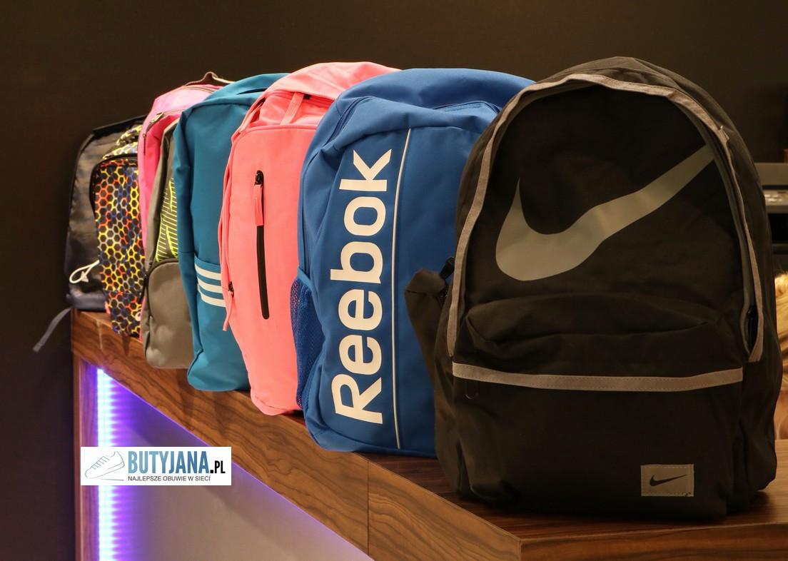 plecaki nike reebok adidas do szkoły