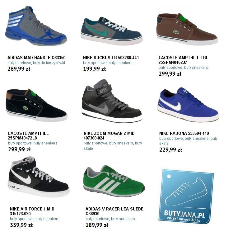 Buty sportowe m skie nowo ci w naszym sklepie House sklep buty meskie
