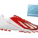 korki piłkarskie adidas messi - biało czerwone