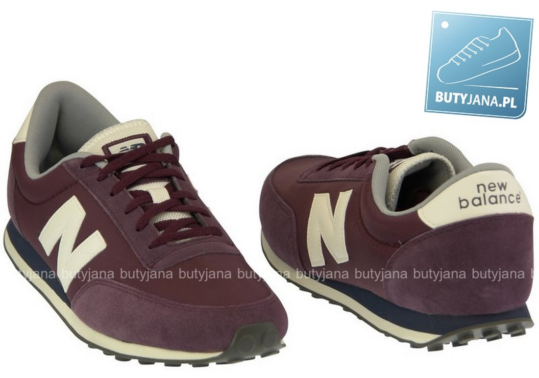 bordowe buty new balance 410