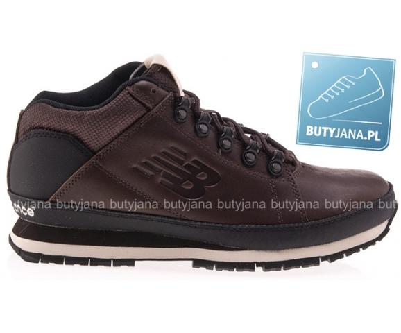 new balance 574 - brązowe buty zimowe