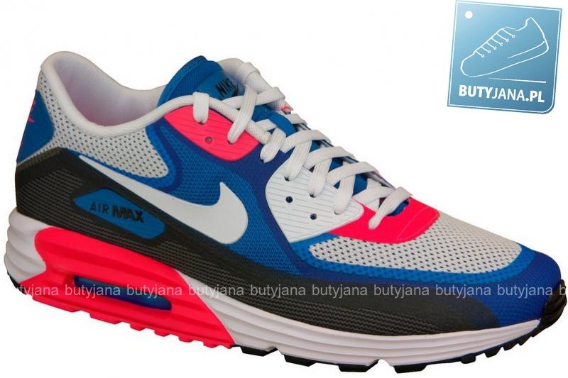 Nike Air Max Lunar 90 C3.0 631744-004 biało niebiesko czerwone