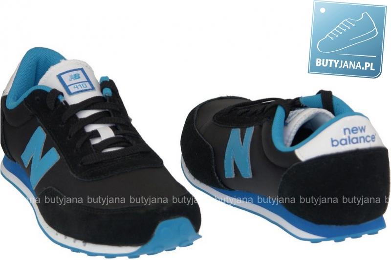 newbalansy 410 czrno niebieskie