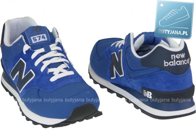 newbalansy 574 niebieskie