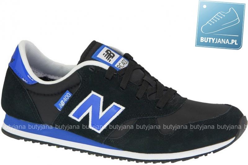newbalansy czarno niebieskie męskie