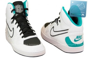 nike son of force white turbo green sneakers