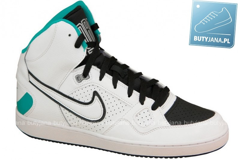 nike son of force white turbo green