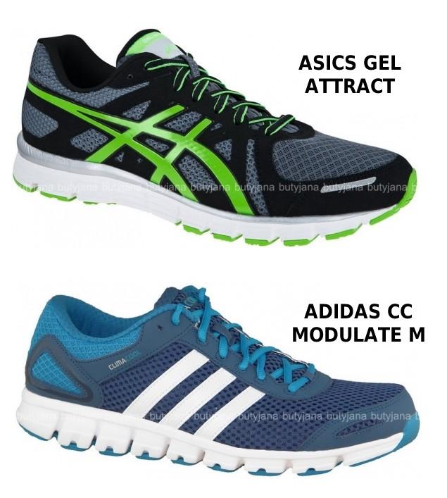 adidasy i asicsy do biegania