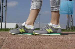 buty new balance damskie 410 szaro zielone