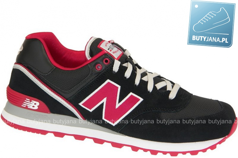 New Balance ML574SJK Black Red - końcówka kolekcji outlet
