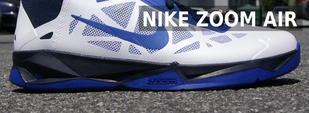 system amortyzacyjny Nike Zoom Air zastosowany w butach do koszykówki nike