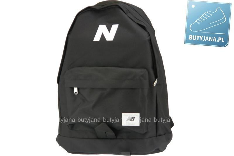 czary plecak dla chłopca z białym logo nb7643